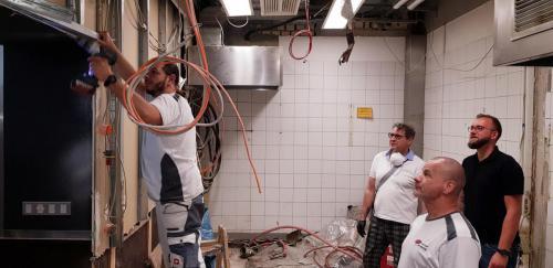 Sanierungsarbeiten Rosmarino